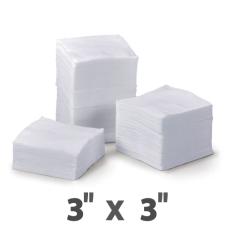 Нетканые медицинские спонжи (размер: 3х3 см)