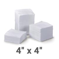 Нетканые медицинские спонжи (размер: 4х4 см)